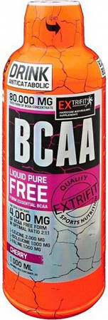 BCAA 80000 Liquid 1 l абрикос EXTRIFIT