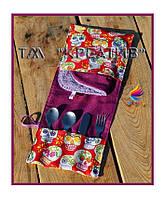 Чехол  для полотенца столовых приборов текстильный (под заказ от 50 шт.)