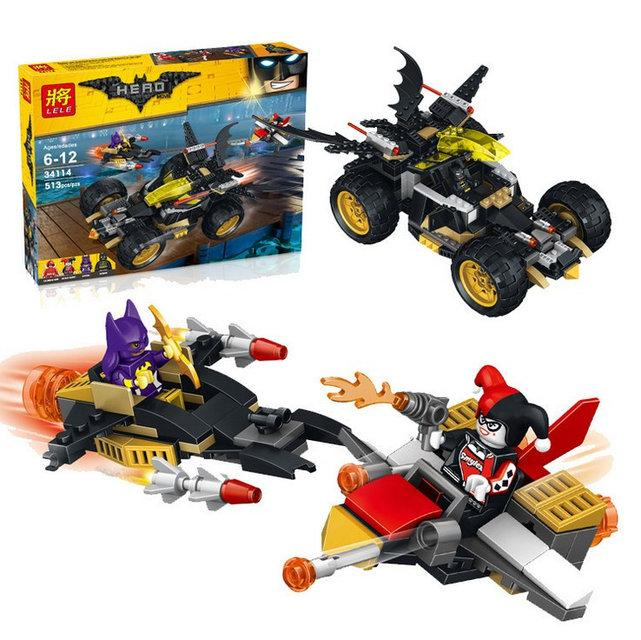 "Конструктор Lele 34114 ""The Batman Movie"" 513 деталей"