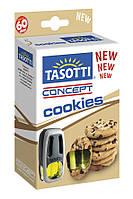 Автомобильный ароматизатор на дефлектор Tasotti Concept Cookies 8 ml