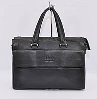 Кожаный мужской портфель, сумка для документов Hugo Boss 9068-5