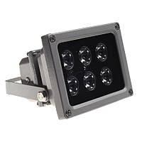 Уличный ИК-прожектор WIDE-50 на 50 метров interVision