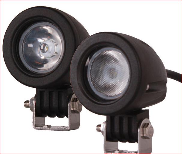 Светодиодные фары мини 10W 24 10 дальний свет