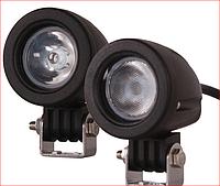 Светодиодные фары мини 10W 24 10 дальний свет, фото 1