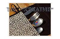 Разноцветные чехлы для столовых приборов  (под заказ от 50 шт.)