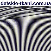 Ткань с мелкой синей полоской (№ 120а).
