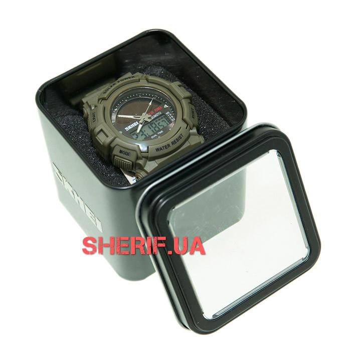 Часы Skmei 1050 Army Green BOX 1050BOXAG