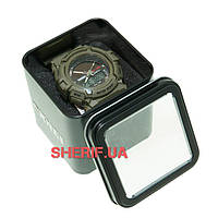 Часы Skmei 1050 Army Green BOX 1050BOXAG