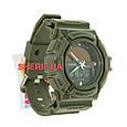 Часы Skmei 1050 Army Green BOX 1050BOXAG , фото 3