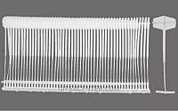 Стандартный пластиковый соединитель для игольчатых пистолетов Red Arrow 40 мм (5 тысяч штук)