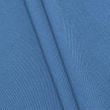 Тканина коттон джинсовий однотонний, фото 3
