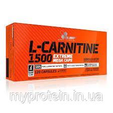 OLIMP Л-карнитин в капсулах L-Carnitine 1500 Extreme Mega Caps (120 caps)