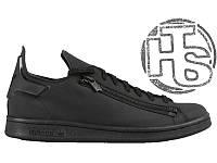 Мужские кроссовки Adidas Y-3 Stan Smith Zip Sneaker Black BB4796