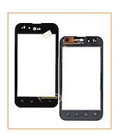 Сенсор (тачскрин) LG P970/P790 Optimus Black Orig