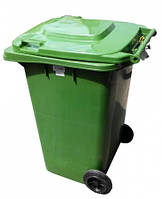Бак для мусора пластиковый 120л  (ZTP-120 )