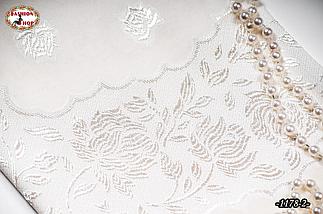 Маленький свадебный платок Ангел (айвори), фото 3