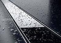 Трап для душа  Karmat GLASS BLACK 1000 (Трап из нержавеющей стали, накладка черное стекло)