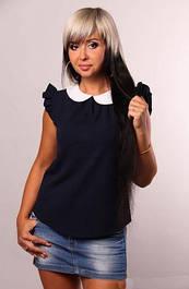 Блузы короткий рукав
