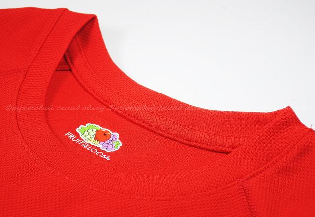 Детская спортивная футболка Красная