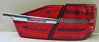 Toyota Сamry V55 рестайлинг оптика задняя LED Benz стиль/ LED taillights restyling 2015