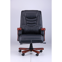 Кресло Монреаль Кожа Черная (675-B+PVC) (AMF-ТМ), фото 2
