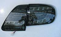 Corolla E150 оптика задняя LED черная