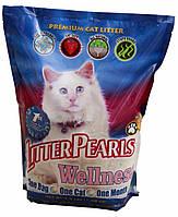 Litter Pearls ВЕЛЛНЕС (Wellness) кварцевый наполнитель для туалетов котов, 3,4л (1,59кг)
