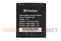 Аккумуляторная батарея PAP5400 Li-ion для мобильного телефона Prestigio 1700mAh