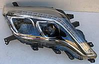 Toyota Prado 150 рестайлинг оптика передняя альтернативная ксенон DRL