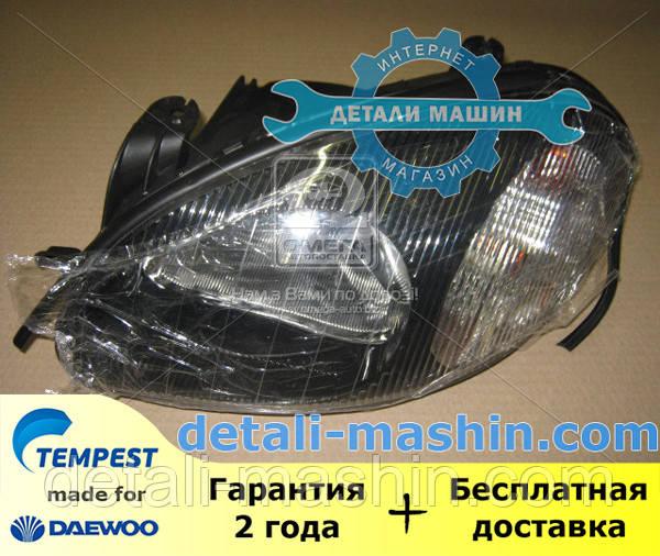Фара електрична ліва (хромований відбивач) Ланос (TEMPEST) DAEWOO Lanos 020 0139 R3C