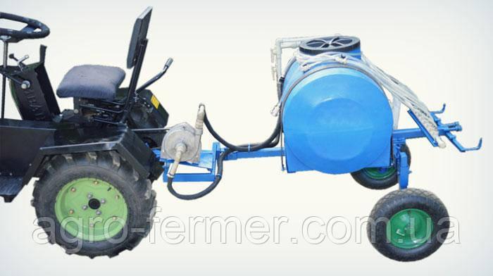 Обприскувач 85л (для мототрактора, ременем і помпою)