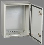 Щит металлический с панелью ЩМП-2-2 У1 PRO 500х400х220 IP54