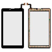 Сенсорный экран (touchscreen) для Irbis TZ47/TZ70, 184-104мм, 31 pin, емкостный, черный, оригинал