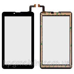 Сенсорный экран для Nomi Sigma+ C07004, Cosmo+ C07006, 184х104мм, 31 pin, емкостный, черный, оригинал