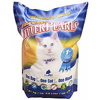 Litter Pearls ТРАКЛЕС (TrackLess) кварцевый наполнитель для туалетов котов, 3,8л