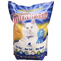 Litter Pearls ТРАКЛЕС (TrackLess) кварцевый наполнитель для туалетов котов, 7,6л (3,63кг)