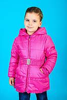 Куртка для девочки в мелкий горох