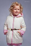 Куртка для девочки стеганая