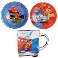 Детский набор Luminarc Disney Cars II, 3 предмета