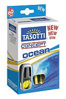 Автомобильный ароматизатор на дефлектор Tasotti Concept Ocean 8 ml