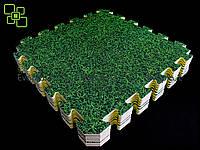 Коврик-пазл ДЕКОР газон 10мм/53х53см (уп. 9 шт. 152х152 см), фото 1