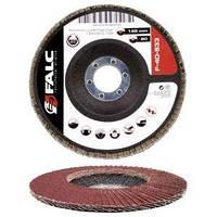 Круг лепестковый дисковый торцевой 125х22 мм Р  80