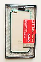 Чехол Бампер на Айфон 6/6s ROCK стильный Металл Ментоловый, фото 1