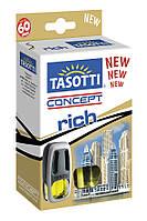 Автомобильный ароматизатор на дефлектор Tasotti Concept Rich-Perfume 8 ml