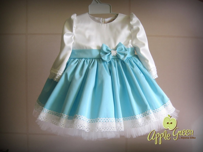 b065d477bc4 Нарядное платье с кружевом