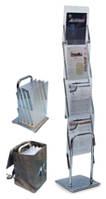 Мобильные стойки для буклетов Dix-Box 4х1