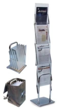 Мобильные стойки для буклетов Dix-Box 4х1, фото 2