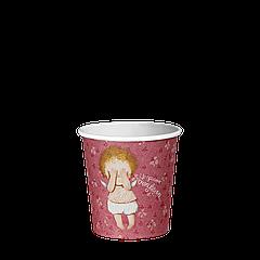 Стакан бумажный 110 мл. Gapchinska 50шт.(84/4200) Розовый