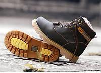 Зимние ботинки CAT Caterpillar мужские НА МЕХУ в наличии. РАЗМЕР 39,40,44,45