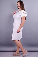 Марианна. Батальное платье для особых случаев. Белый.